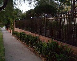 Aluminium Spear Top Tubular Fence Infill Panels