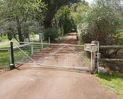 Galvanised Automatic Farm Gate