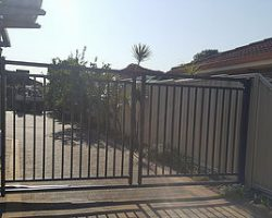 Single Swing Automatic Security Gate