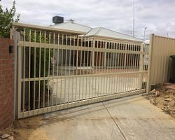 Sliding Electric Security Gate